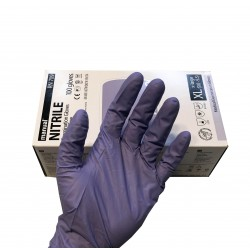 BOX 100 GUANTI NITRILE XL